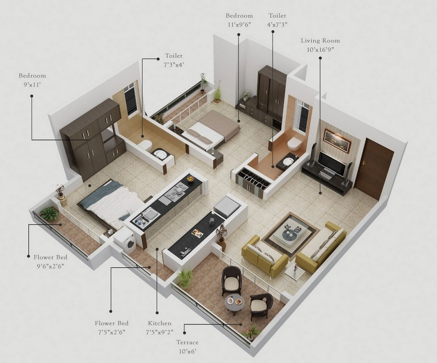 appartment plans